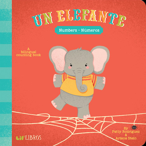 Cover of Un Elefante: Numbers/Números
