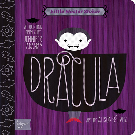 Cover of Dracula: A BabyLit Counting Primer