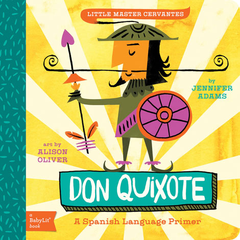 Cover of Don Quixote: A BabyLit Spanish Language Primer